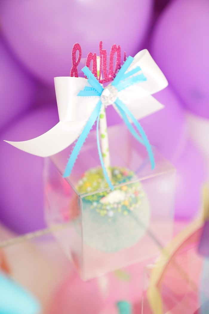 Candied Apple from a Sweet Shop Birthday Party on Kara's Party Ideas | KarasPartyIdeas.com (14)