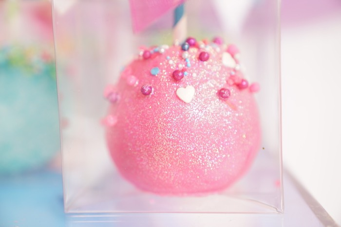 Candied Apple from a Sweet Shop Birthday Party on Kara's Party Ideas | KarasPartyIdeas.com (12)