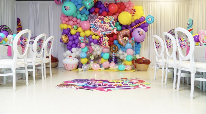 Sweet Shop Birthday Party on Kara's Party Ideas | KarasPartyIdeas.com (6)