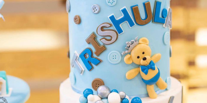 Teddy Bear Prince Birthday Party on Kara's Party Ideas | KarasPartyIdeas.com (2)