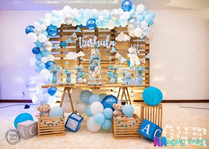 Teddy Bear Prince Birthday Party on Kara's Party Ideas | KarasPartyIdeas.com (20)