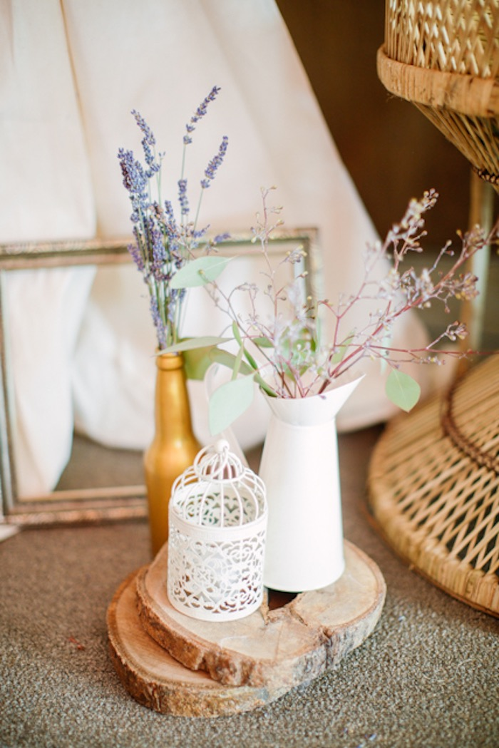 Blooms + Decor from a Boho Birthday Party on Kara's Party Ideas | KarasPartyIdeas.com (19)