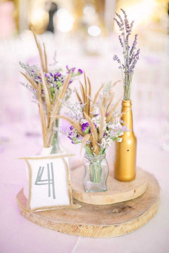 Boho-inspired Table Centerpiece + Table Assignment from a Boho Birthday Party on Kara's Party Ideas | KarasPartyIdeas.com (37)