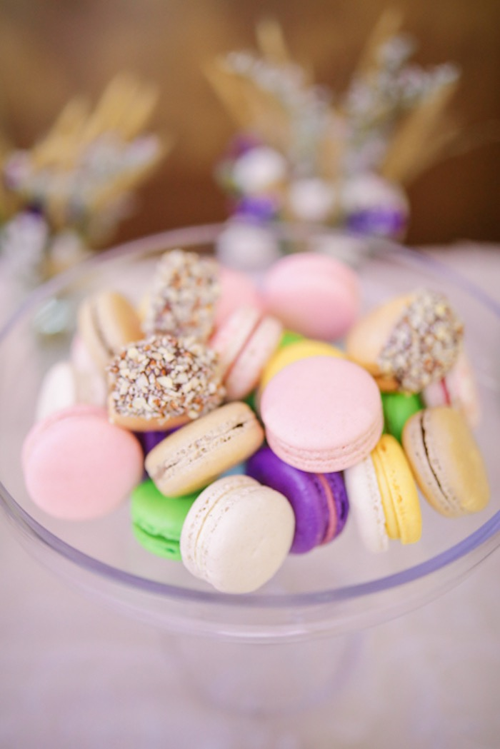 Macarons from a Boho Birthday Party on Kara's Party Ideas | KarasPartyIdeas.com (6)