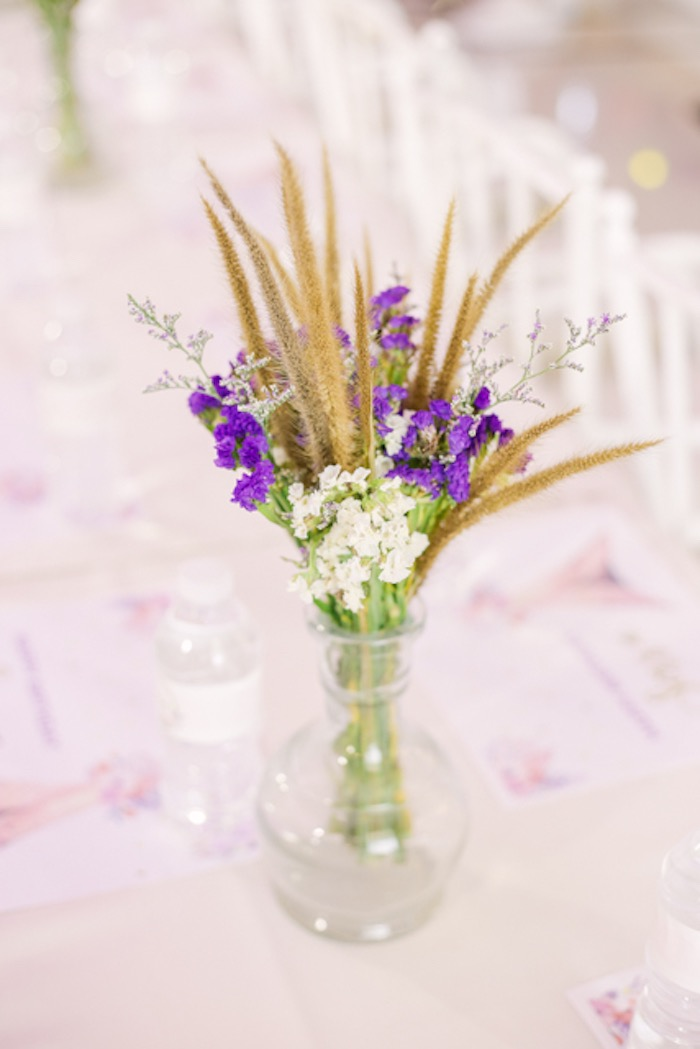 Boho Bloom Table Centerpiece from a Boho Birthday Party on Kara's Party Ideas | KarasPartyIdeas.com (35)
