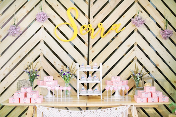 Boho Themed Dessert Table from a Boho Birthday Party on Kara's Party Ideas | KarasPartyIdeas.com (33)