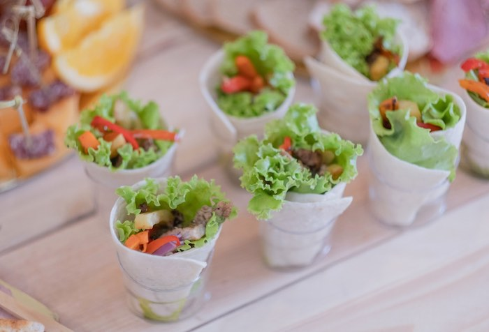 Garden Veggie Cups from a Cabbage Patch Doll Birthday Party on Kara's Party Ideas | KarasPartyIdeas.com (26)