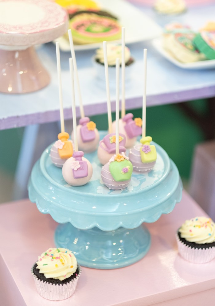 Cake Pops from a Cabbage Patch Doll Birthday Party on Kara's Party Ideas | KarasPartyIdeas.com (22)
