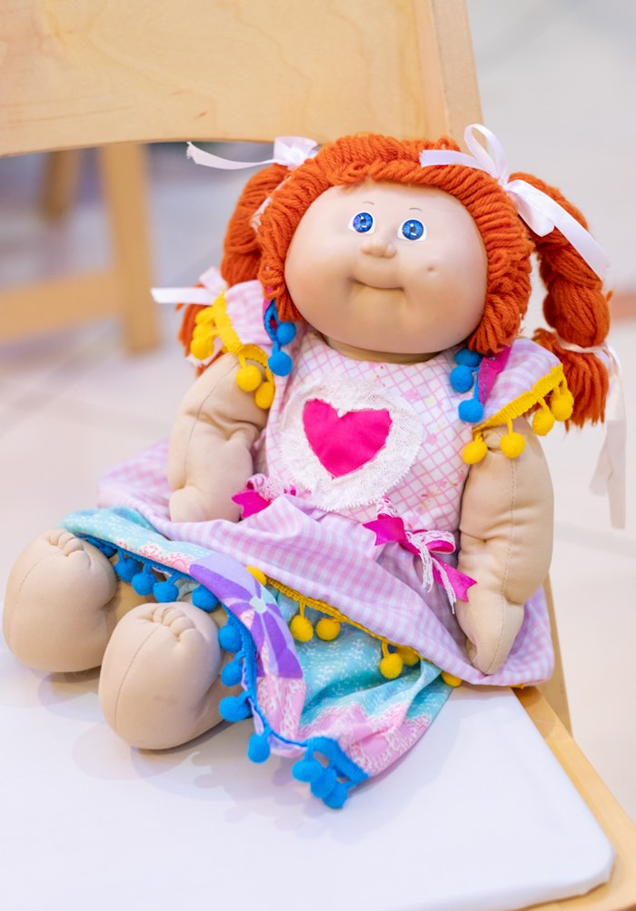 Retro Cabbage Patch Doll from a Cabbage Patch Doll Birthday Party on Kara's Party Ideas | KarasPartyIdeas.com (8)