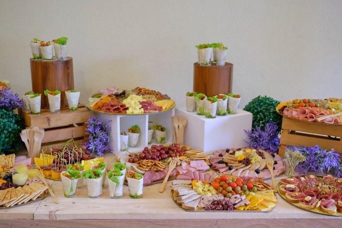 Garden Themed Grazing Table from a Cabbage Patch Doll Birthday Party on Kara's Party Ideas | KarasPartyIdeas.com (27)