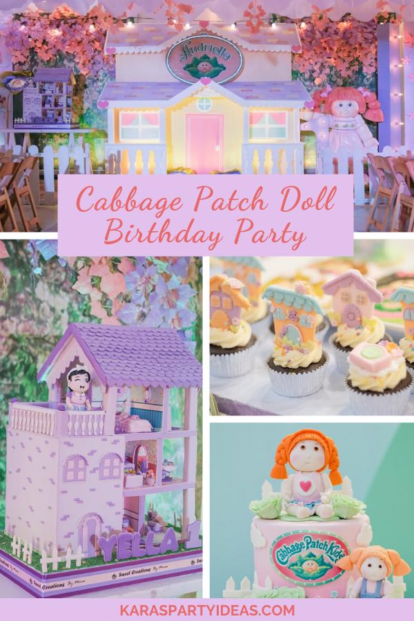 Cabbage Patch Doll Birthday Partyvia Kara's Party Ideas - KarasPartyIdeas.com