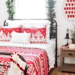 Christmas Holiday Bedroom Makeover Guest Room by Kara's Party Ideas for JCPenney-10