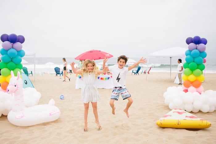 Colorful Seaside Birthday Party on Kara's Party Ideas | KarasPartyIdeas.com (23)