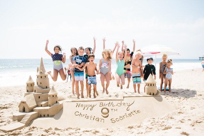Colorful Seaside Birthday Party on Kara's Party Ideas | KarasPartyIdeas.com (6)