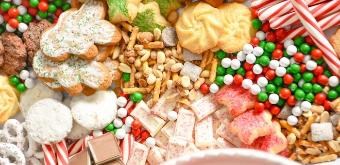 Cookie-Exchange-Party-with-Sugar-Cookie-Bar-Recipe-and-Sugar-Cookie-Mocktail-by-Karas-Party-Ideas-for-International-Delight-13