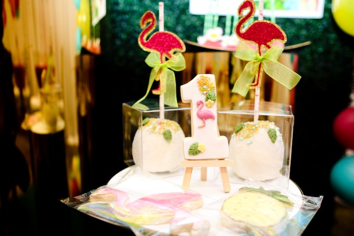 Cookies + Sweets from a First Birthday Luau on Kara's Party Ideas | KarasPartyIdeas.com (10)
