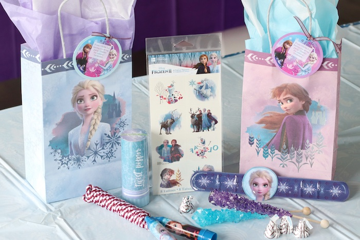 Frozen Party Favors from a Frozen 2 Birthday Party with DIY Backdrop on Kara's Party Ideas | KarasPartyIdeas.com (16)