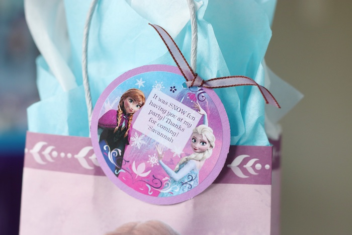 Favor Tag from a Frozen 2 Birthday Party with DIY Backdrop on Kara's Party Ideas | KarasPartyIdeas.com (15)