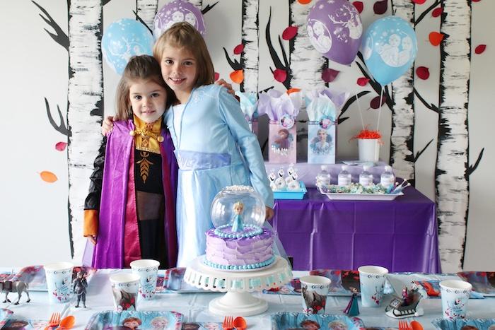 Frozen 2 Birthday Party with DIY Backdrop on Kara's Party Ideas | KarasPartyIdeas.com (5)