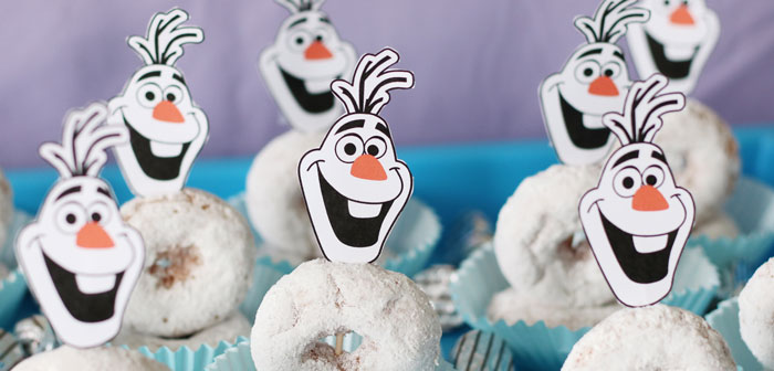 Frozen 2 Birthday Party with DIY Backdrop on Kara's Party Ideas | KarasPartyIdeas.com (4)
