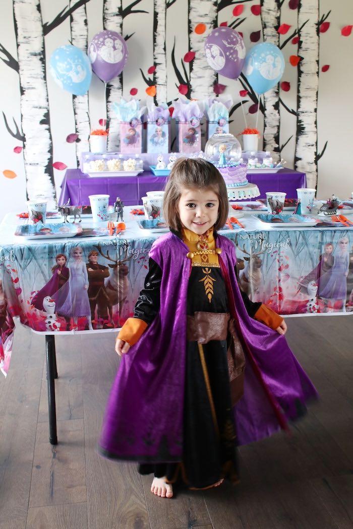 Frozen 2 Birthday Party with DIY Backdrop on Kara's Party Ideas | KarasPartyIdeas.com (35)