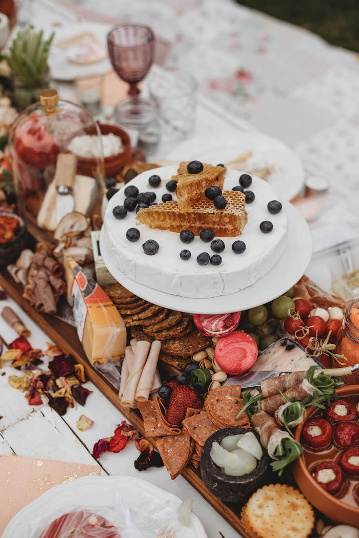 Grazing Board from a Lavish Baby Sprinkle on Kara's Party Ideas | KarasPartyIdeas.com (26)