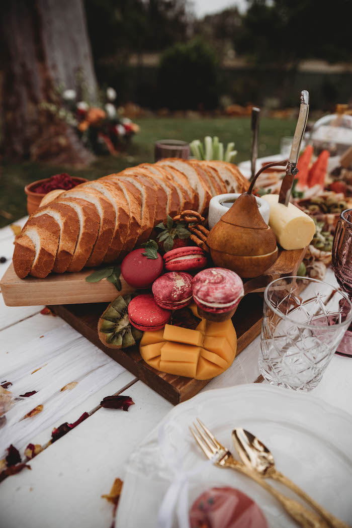 Charcuterie Board from a Lavish Baby Sprinkle on Kara's Party Ideas | KarasPartyIdeas.com (12)