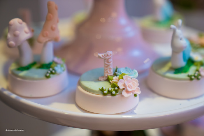 Garden-inspired Oreos from a Magical Garden Soiree on Kara's Party Ideas | KarasPartyIdeas.com (36)