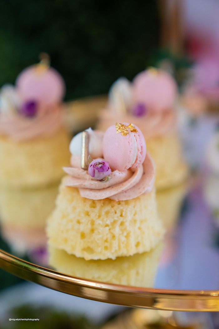 Mini Bundt Cake from a Magical Garden Soiree on Kara's Party Ideas | KarasPartyIdeas.com (29)