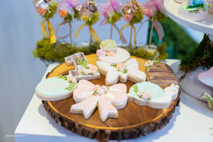 Garden Cookies + Platter from a Magical Garden Soiree on Kara's Party Ideas | KarasPartyIdeas.com (24)