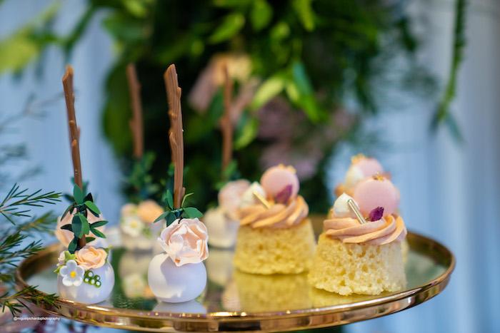 Cake Pops + Bundt Cakes from a Magical Garden Soiree on Kara's Party Ideas | KarasPartyIdeas.com (23)