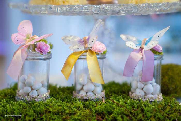 Butterfly-topped Candy Jars from a Magical Garden Soiree on Kara's Party Ideas | KarasPartyIdeas.com (22)