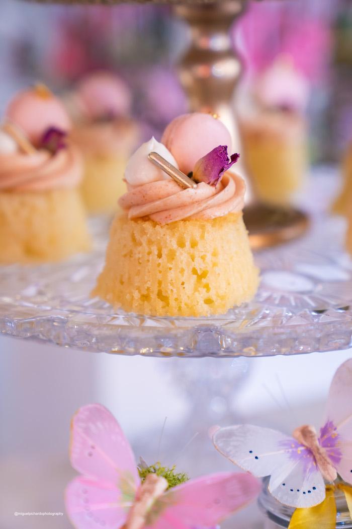 Mini Bundt Cake from a Magical Garden Soiree on Kara's Party Ideas | KarasPartyIdeas.com (14)