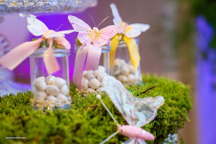 Butterfly Favor Jars from a Magical Garden Soiree on Kara's Party Ideas | KarasPartyIdeas.com (41)