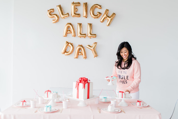 Merry and Bright Christmas Holiday Party on Kara's Party Ideas | KarasPartyIdeas.com (34)
