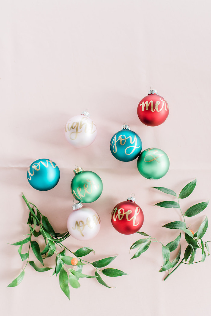 Scripted- Bulb Ornaments from a Merry and Bright Christmas Holiday Party on Kara's Party Ideas | KarasPartyIdeas.com (7)