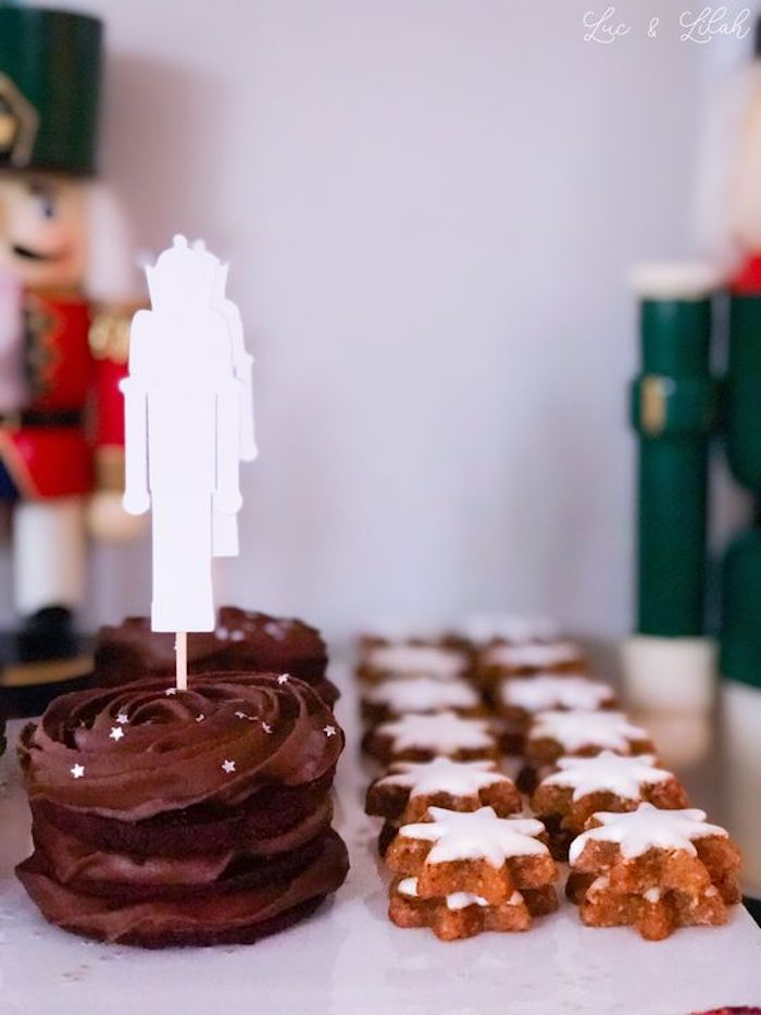 Cakes and Cookies from a Nutcracker Birthday Party on Kara's Party Ideas | KarasPartyIdeas.com (9)