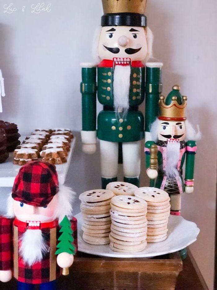 Window Snowflake Cookies from a Nutcracker Birthday Party on Kara's Party Ideas | KarasPartyIdeas.com (4)