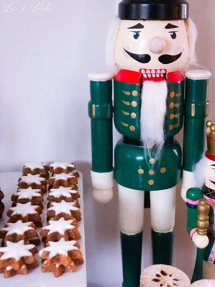 Star Cookies from a Nutcracker Birthday Party on Kara's Party Ideas | KarasPartyIdeas.com (21)