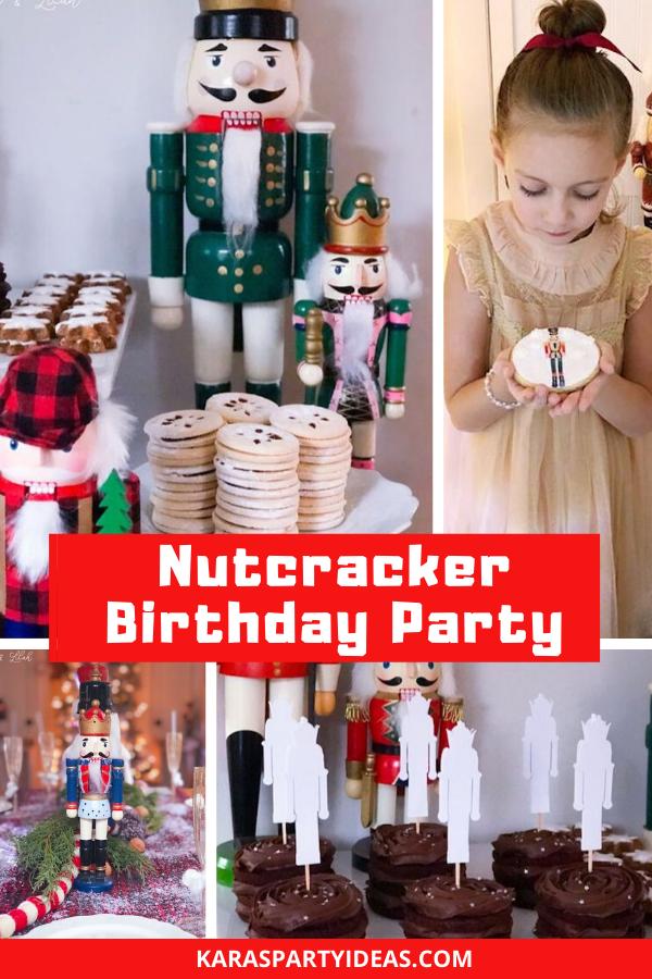 Nutcracker Birthday Party via Kara's Party Ideas - KarasPartyIdeas.com