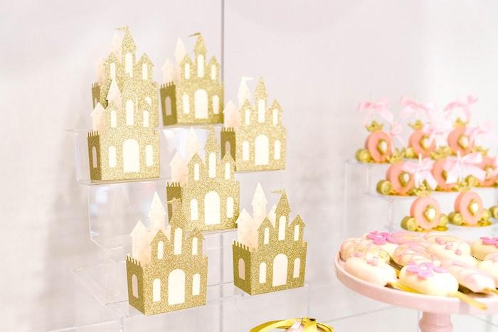 Glitter Castle Boxes from a Pink Princess Birthday Tea Party on Kara's Party Ideas   KarasPartyIdeas.com (23)