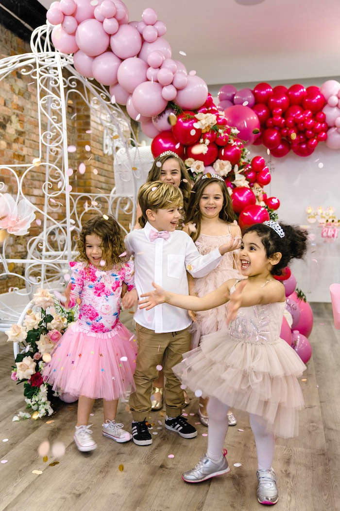 Pink Princess Birthday Tea Party on Kara's Party Ideas | KarasPartyIdeas.com (9)