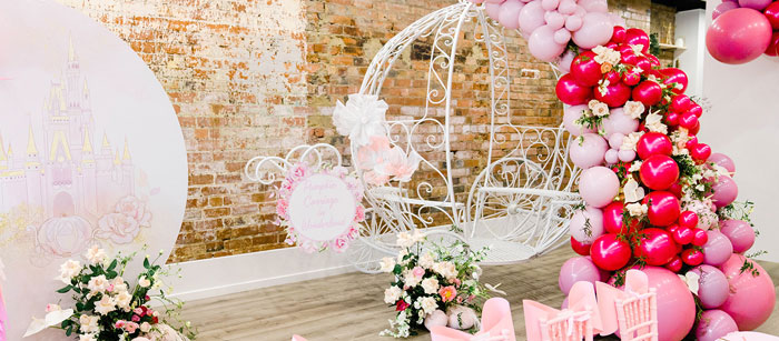 Pink Princess Birthday Tea Party on Kara's Party Ideas | KarasPartyIdeas.com (8)