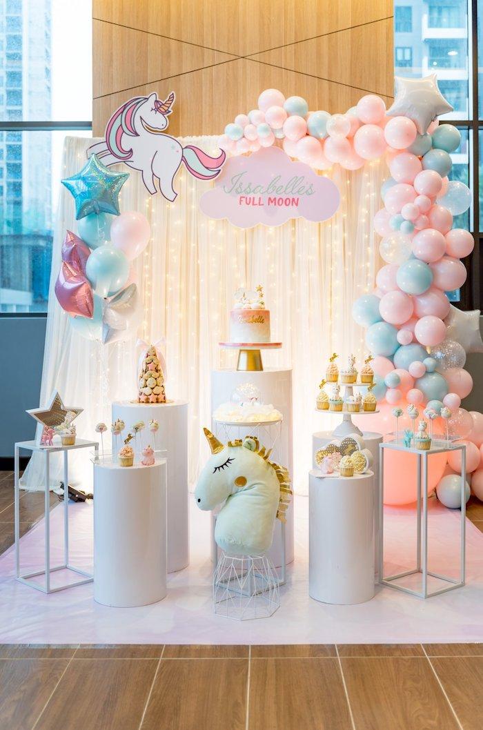 Sweet Unicorn Full Moon Party on Kara's Party Ideas | KarasPartyIdeas.com (18)