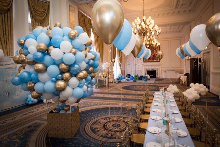 Vintage Travel + Hot Air Balloon Party on Kara's Party Ideas | KarasPartyIdeas.com (13)