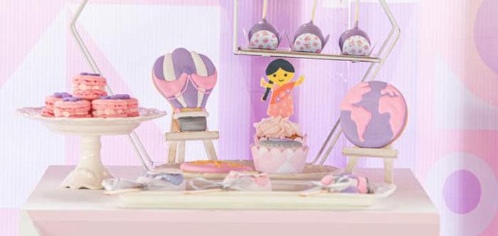 """It's a Small World"" Birthday Party on Kara's Party Ideas | KarasPartyIdeas.com (2)"