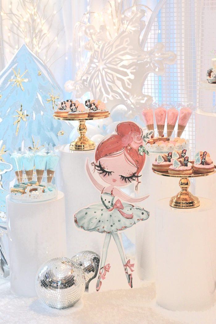 Arctic Wonderland Birthday Party on Kara's Party Ideas   KarasPartyIdeas.com (18)