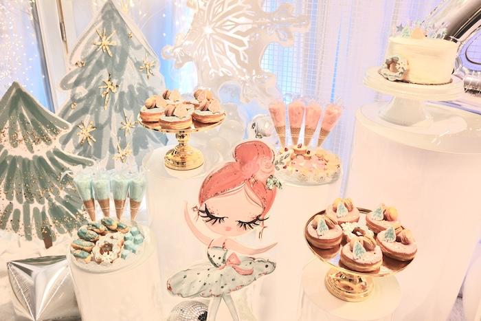 Arctic Wonderland Birthday Party on Kara's Party Ideas   KarasPartyIdeas.com (17)