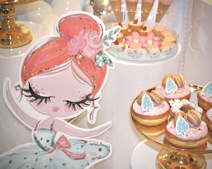 Arctic Doughnuts from an Arctic Wonderland Birthday Party on Kara's Party Ideas   KarasPartyIdeas.com (16)