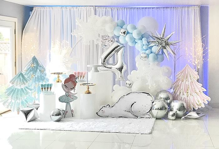 Arctic Wonderland Birthday Party on Kara's Party Ideas   KarasPartyIdeas.com (24)
